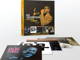 HENDERSON, JOE - 5 ORIGINAL ALBUMS -LTD-