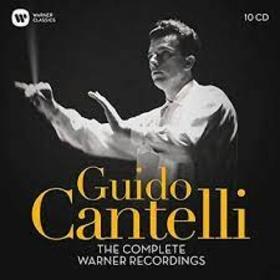 CANTELLI, GUIDO - COMPLETE WARNER RECORDINGS -BOX SET-