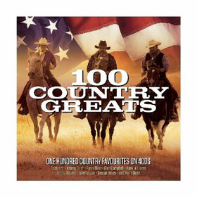 VARIOUS ARTISTS - 100 COUNTRY GREATS -BOX-