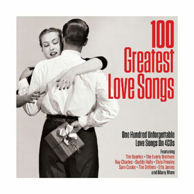 VARIOUS ARTISTS - 100 GREATEST LOVE SONGS -BOX-