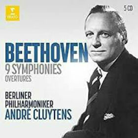 CLUYTENS, ANDRE - BEETHOVEN: 9 SYMPHONIES -BOX-