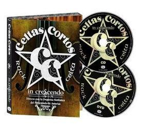 CELTAS CORTOS - IN CRESCENDO + DVD