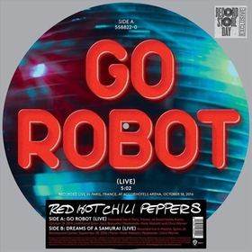 RED HOT CHILI PEPPERS - GO ROBOT (LIVE) -LTD-