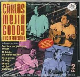MEJIA GODOY, CARLOS - SUS TRES MEJORES ALBUMES EN DISCOS CBS (1977-1980)