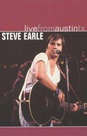 EARLE, STEVE - LIVE FROM AUSTIN TX.