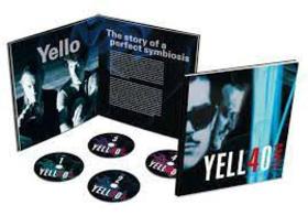 YELLO - YELL40 YEARS -HARDCOVER BOOK BOX-