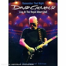 GILMOUR, DAVID - REMEMBER THAT NIGHT-LIVE