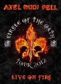 PELL, AXEL RUDI - LIVE ON FIRE + CD