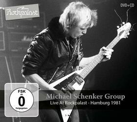 SCHENKER, MICHAEL - LIVE AT ROCKPALAST + DVD