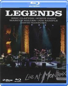 VARIOUS ARTISTS - LEGENDS LIVE AT MONTREUX 1997