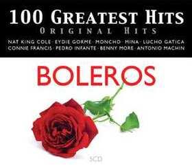 VARIOUS ARTISTS - 100 GREATEST HITS - ORIGINAL HITS - BOLEROS