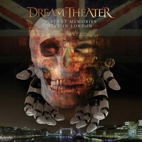 DREAM THEATER - DISTANT MEMORIES - LIVE IN LONDON =BOX=
