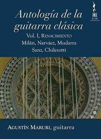 VARIOUS ARTISTS - ANTOLOGIA DE LA GUITARRA CLASICA 1 - RENACIMIENTO