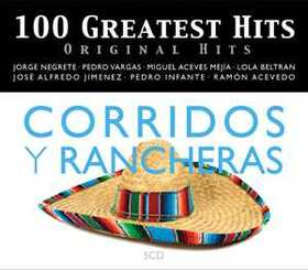 VARIOUS ARTISTS - 100 GREATEST HITS - ORIGINAL HITS - RANCHERAS