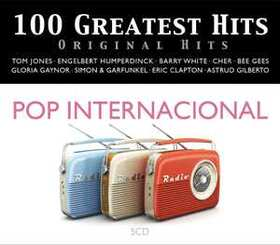 VARIOUS ARTISTS - 100 GREATEST HITS - ORIGINAL HITS - POP INT.