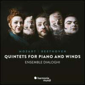 BEETHOVEN & MOZART - QUINTETS FOR PIANO AND WINDS