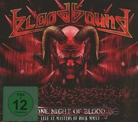 BLOODBOUND - ONE NIGHT OF BLOOD + CD
