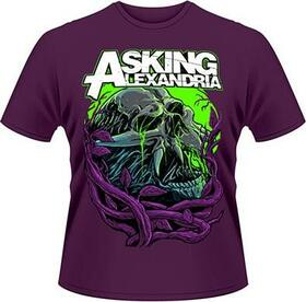 ASKING ALEXANDRIA - NIGHT SLIME -M- PURPLE