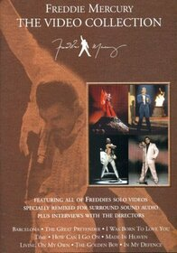 MERCURY, FREDDIE - VIDEO COLLECTION