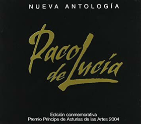 LUCIA, PACO DE - NUEVA ANTOLOGIA - ED. PRINCIPE DE ASTURIAS