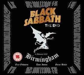 BLACK SABBATH - END + BLURAY