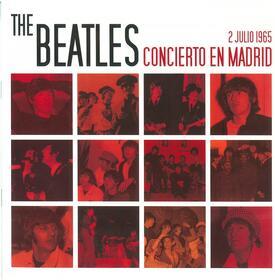 BEATLES - CONCIERTO EN MADRID - 2 JULIO 1965