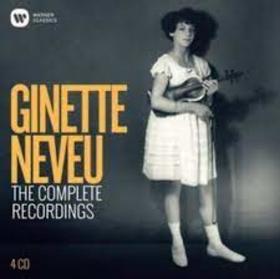 NEVEU, GINETTE - COMPLETE RECORDINGS
