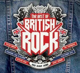 VARIOUS ARTISTS - BEST OF BRITISH ROCK