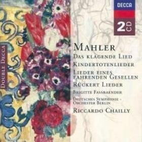 MAHLER, GUSTAV - DAS KLAGENDE LIED - SONG CICLES-