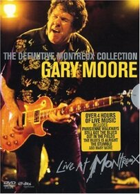 MOORE, GARY - DEFINITIVE MONTREUX COLLECTION 1990-2001