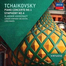 TCHAIKOVSKY, PIOTR ILICH - KLAVIERKONZERT 1/SYMPHONI