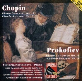 CHOPIN, FREDERIC - CONCERT FOR PIANO & ORCHE