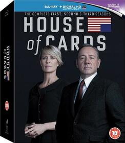 TV SERIES - HOUSE OF CARDS - S1-3 USA