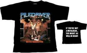 PILEDRIVER - METAL INQUISITION -XXL-