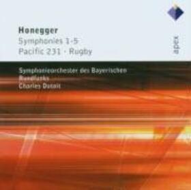 HONEGGER, ARTHUR - SYMPHONIES NO.1-5