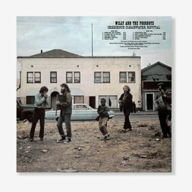 CREEDENCE CLEARWATER REVIVAL - WILLY AND THE POOR BOYS -HALF SPD-