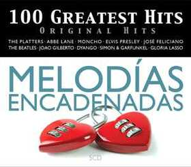 VARIOUS ARTISTS - 100 GREATEST HITS - ORIGINAL HITS - ENCADENADAS