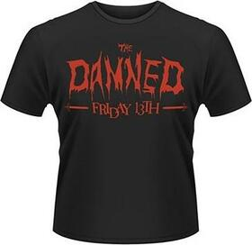 DAMNED - FRIDAY 13TH -S- BLACK