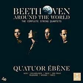 QUATUOR EBENE - BEETHOVEN AROUND THE WORLD -BOX SET-