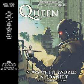 QUEEN - NEWS OF THE WORLD IN CONCERT -LTD-