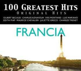 VARIOUS ARTISTS - 100 GREATEST HITS - ORIGINAL HITS - FRANCIA