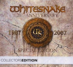 WHITESNAKE - 1987 + DVD -20TH ANNIVERSARY COLLECTION-