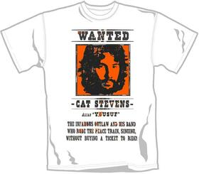 STEVENS, CAT  - WANTED -L- WHITE