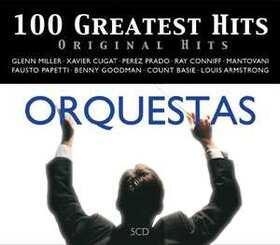 VARIOUS ARTISTS - 100 GREATEST HITS - ORIGINAL HITS - ORQUESTAS