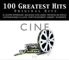 VARIOUS ARTISTS - 100 GREATEST HITS - ORIGINAL HITS - CINE