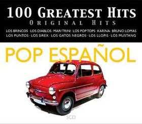 VARIOUS ARTISTS - 100 GREATEST HITS - ORIGINAL HITS - POP ESPAÑOL