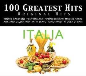 VARIOUS ARTISTS - 100 GREATEST HITS - ORIGINAL HITS - ITALIA