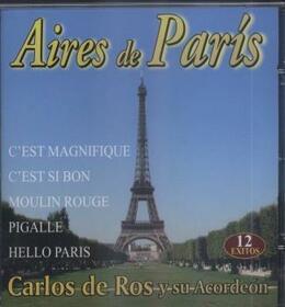 Artistes Variétés - AIRES DE PARIS - ACORDEON -2CD-