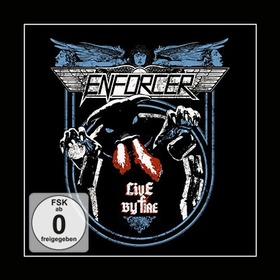 ENFORCER - LIVE BY FIRE + CD
