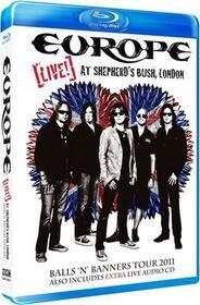 EUROPE - LIVE! AT SHEPHERD'S BUSH, LONDON